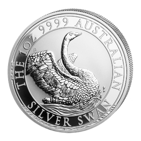 (W017.100.2020.1.ag.bullco.4) 1 Dollar Australie 2020 1 once argent - Cygne Revers