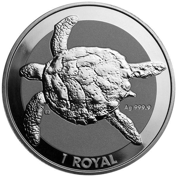 (W218.1.1.R.2020.1.oz.ag.1) 1 Royal 2020 1 oz BU Ag - Sea turtle Reverse (zoom)