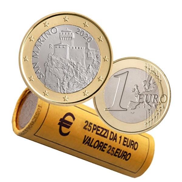 1 euro roll San Marino 2020 (zoom)