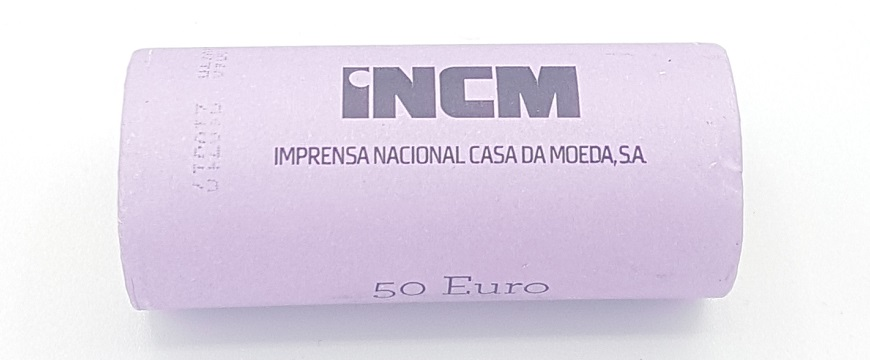 2 euro commemorative coins roll Portugal 2020 - University of Coimbra (zoom)