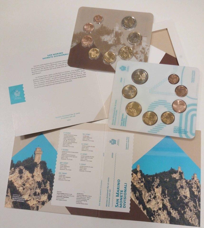 BU coin set San Marino 2020 (zoom)