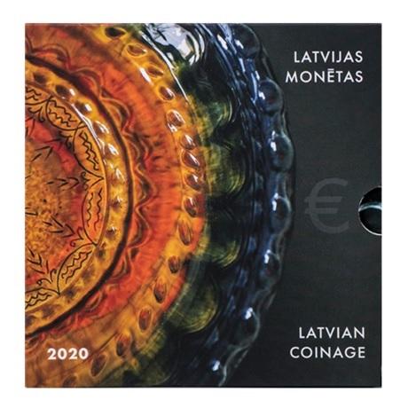Coffret BU Lettonie 2020 - Céramique du Latgale