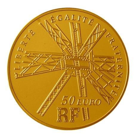 (EUR07.ComBU&BE.2009.5000.BE.COM8) 50 euro France 2009 Au BE - Gustave Eiffel Avers