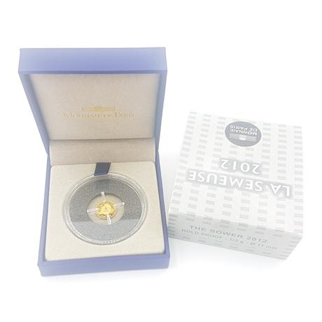 (EUR07.ComBU&BE.2012.10041274990000) 5 euro France 2012 or BE - Semeuse Revers
