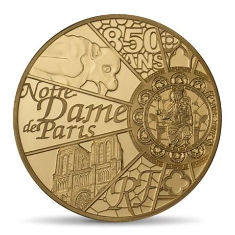 (EUR07.ComBU&BE.2013.10041281640000) 50 euro France 2013 Au BE - Notre-Dame de Paris Avers