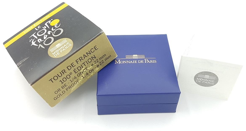 (EUR07.ComBU&BE.2013.10041281810000) 50 euro France 2013 Proof Au - Tour de France (packaging) (zoom)