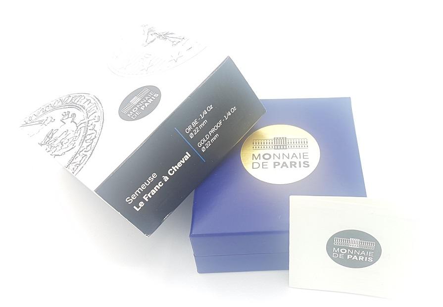 (EUR07.ComBU&BE.2015.10041292880000) 50 euro France 2015 Proof Au - Sower (packaging) (zoom)