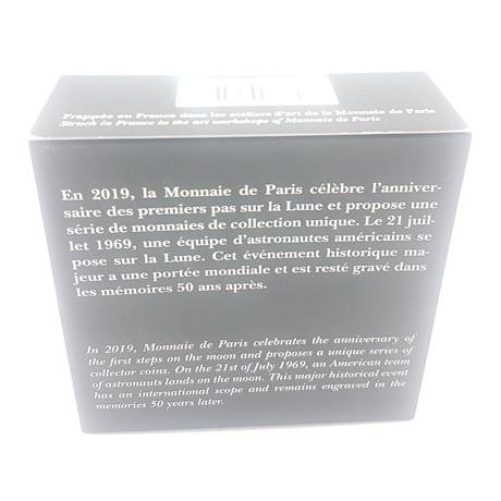 (EUR07.ComBU&BE.2019.10041337820000) 50 euro France 2019 Ag BE - Premiers pas sur la lune Verso