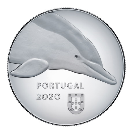 (EUR15.ComBU&BE.2020.1022067) 5 euro Portugal 2020 argent BE - Dauphin Avers