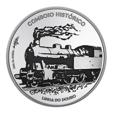(EUR15.ComBU&BE.2020.1022792) 7,5 euro Portugal 2020 argent BE - Trains historiques Revers