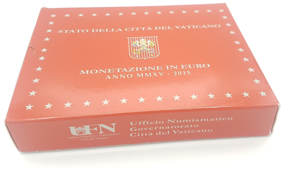 (EUR19.CofBE.2015.Cof-BE.1.000000001) Proof coin set Vatican State 2015 (carton box) (zoom)