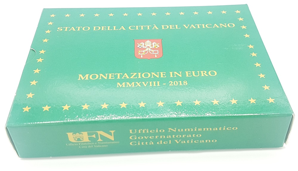 (EUR19.CofBE.2018.CN1429.000000001) Proof coin set Vatican State 2018 (carton box) (zoom)