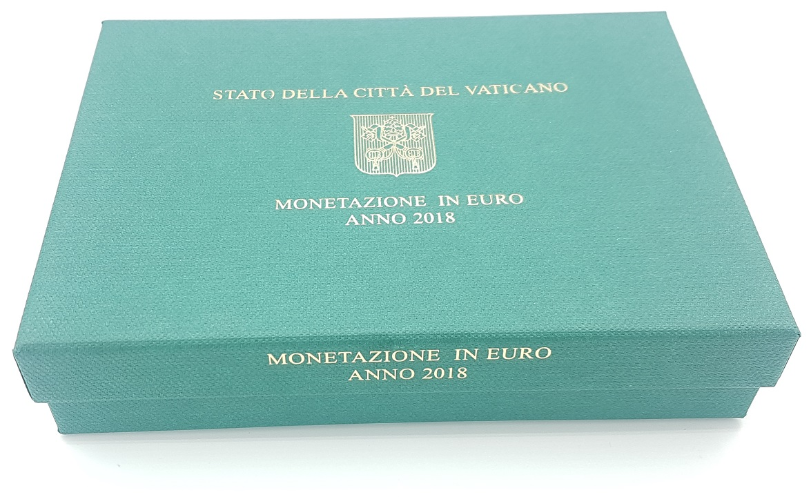 (EUR19.CofBE.2018.CN1430.000000001) Proof coin set Vatican State 2018 (box) (zoom)