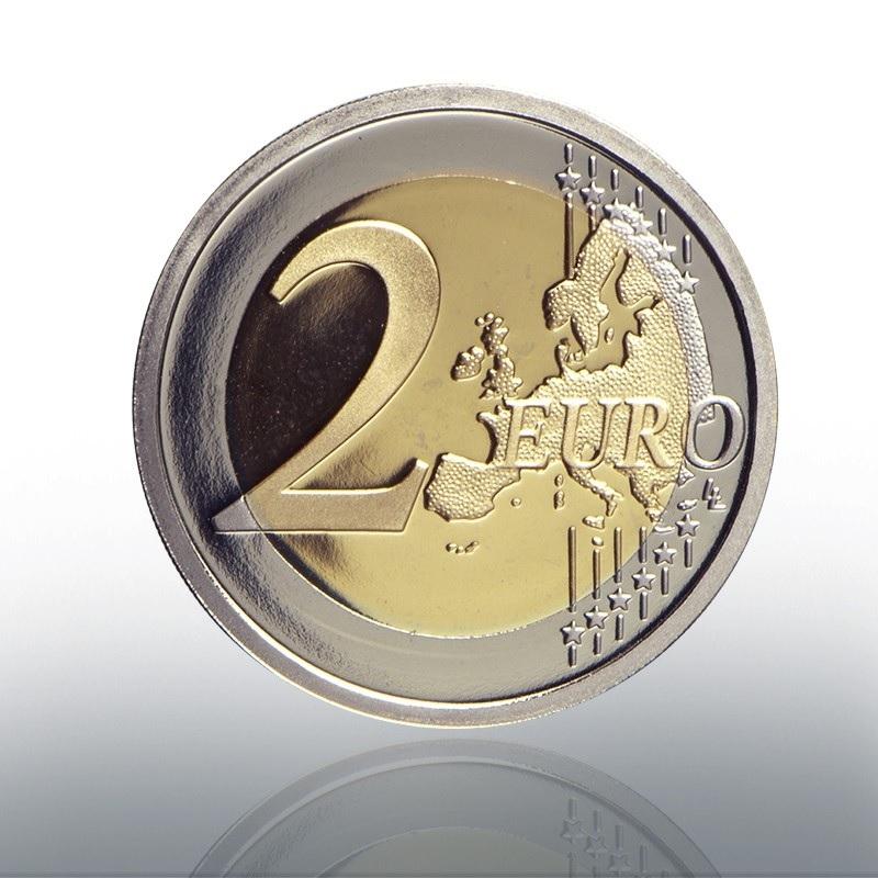 (EUR19.ComBU&BE.2020.CN1540) 2 euro Vatican 2020 Proof - Pope John Paul II Reverse (zoom)