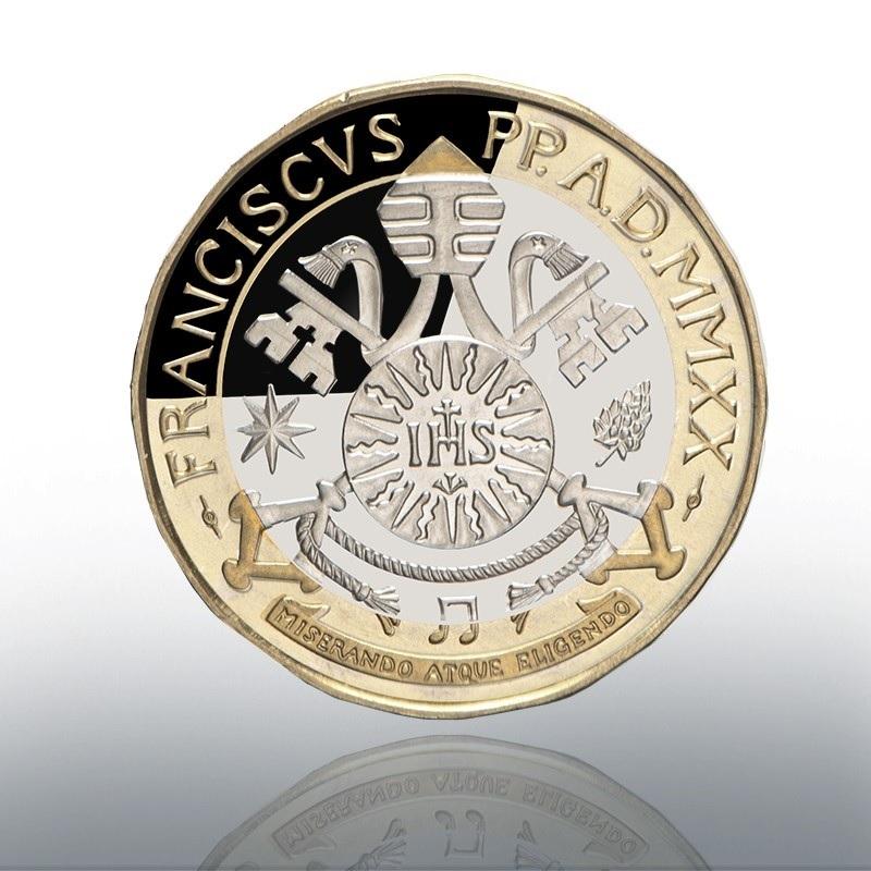 (EUR19.ComBU&BE.2020.CN1541) 5 euro Vatican 2020 Proof - Ludwig Van Beethoven Reverse (zoom)