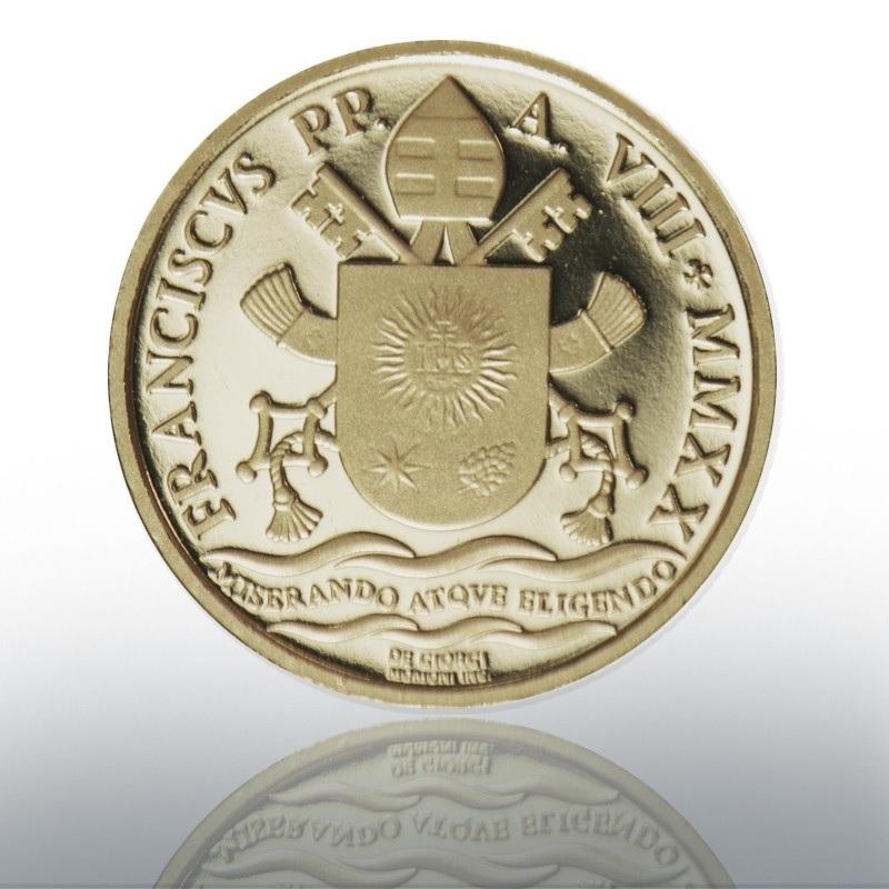 (EUR19.ComBU&BE.2020.CN1542) 10 euro Vatican 2020 Proof gold - Jesus Christ's baptism Reverse (zoom)