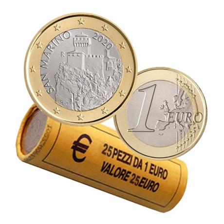 Rouleau 1 euro Saint-Marin 2020