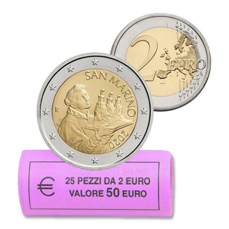 Rouleau 2 euro Saint-Marin 2020