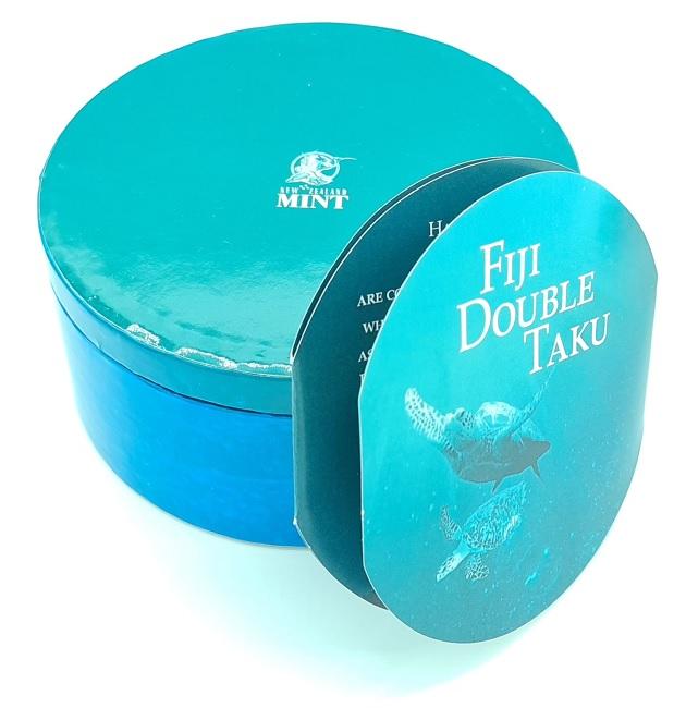 (W073.200.2012.1.oz.Ag.2) 2 Dollars Fiji 2012 1 oz Proof silver - Taku (case) (zoom)
