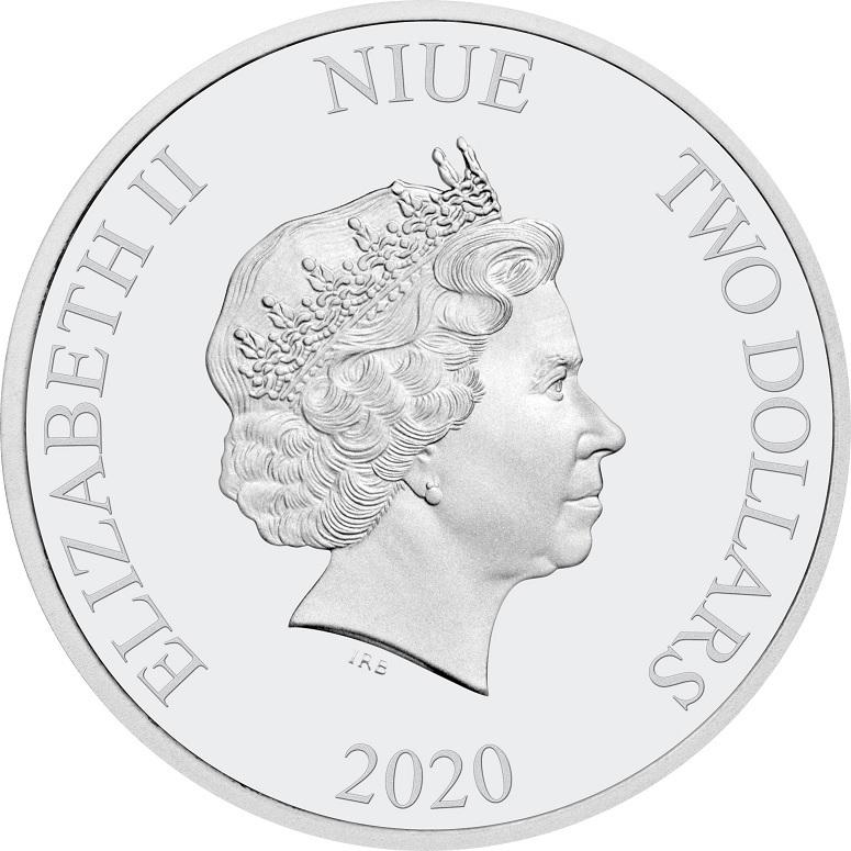 (W160.200.2020.30-00928) 2 Dollars Niue 2020 1 oz Proof silver - Green Lantern Obverse (zoom)