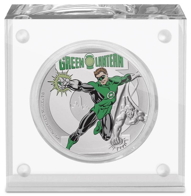 (W160.200.2020.30-00928) 2 Dollars Niue 2020 1 oz Proof silver - Green Lantern (base) (zoom)