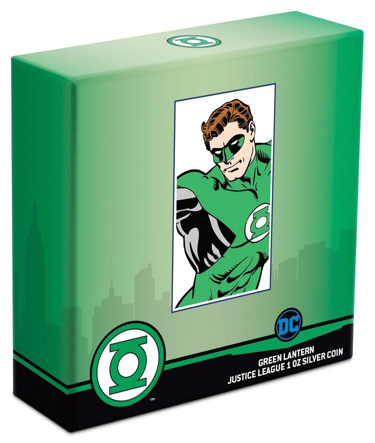 (W160.200.2020.30-00928) 2 Dollars Niue 2020 1 oz Proof silver - Green Lantern (box) (zoom)