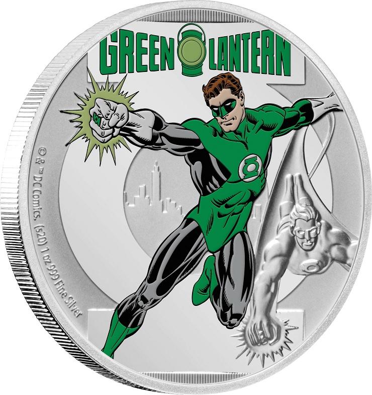 (W160.200.2020.30-00928) 2 Dollars Niue 2020 1 oz Proof silver - Green Lantern (edge) (zoom)