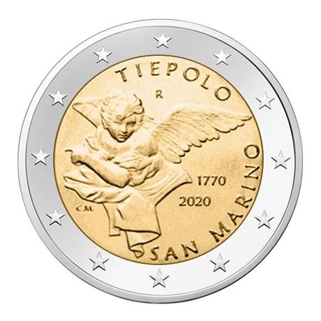 2 euro Saint-Marin 2020 - Giambattista Tiepolo