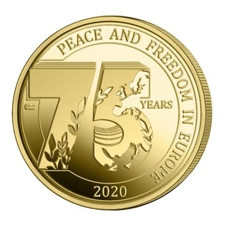 (EUR02.ComBU&BE.2020.250.BU.COM1) 2,5 euro Belgique 2020 BU - Paix - Légende française Revers