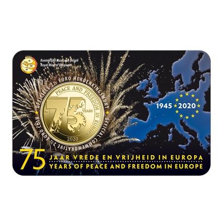(EUR02.ComBU&BE.2020.250.BU.COM1.1) 2,5 euro Belgique 2020 BU - Paix - Légende flamande Recto