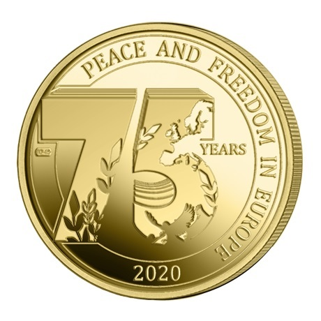 (EUR02.ComBU&BE.2020.250.BU.COM1.1) 2,5 euro Belgique 2020 BU - Paix - Légende flamande Revers