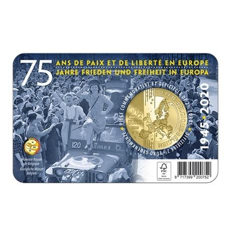 (EUR02.ComBU&BE.2020.250.BU.COM1.1) 2,5 euro Belgique 2020 BU - Paix - Légende flamande Verso