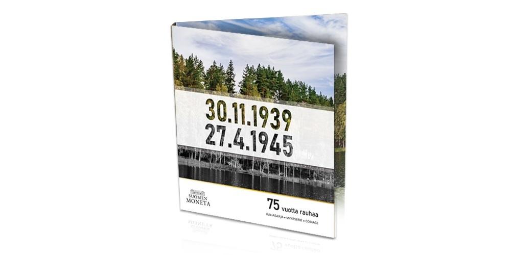 (EUR06.CofBU&FDC.2020.Cof-BU) BU coin set Finland 2020 (75 years of peace)