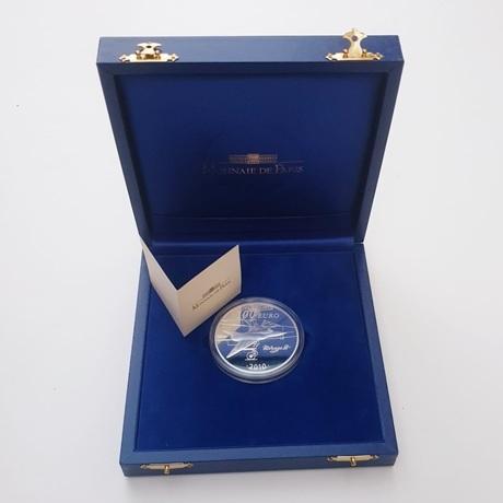 (EUR07.ComBU&BE.2010.10000.BE.COM2) 100 euro France 2010 Ag BE - Marcel Dassault Revers
