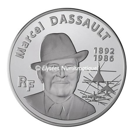 (EUR07.ComBU&BE.2010.10000.BE.COM2) 100 euro France 2010 argent BE - Marcel Dassault Avers