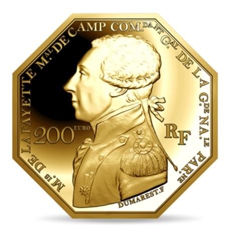(EUR07.ComBU&BE.2020.10041344010000) 200 euro France 2020 or BE - La Fayette Avers