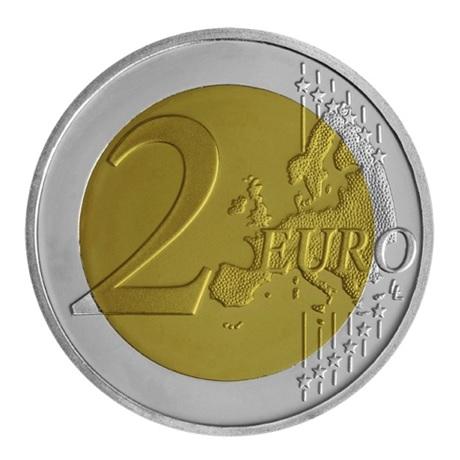 (EUR08.ComBU&BE.2020.200.BE.COM2) 2 euro Grèce 2020 BE - Union de la Thrace Revers