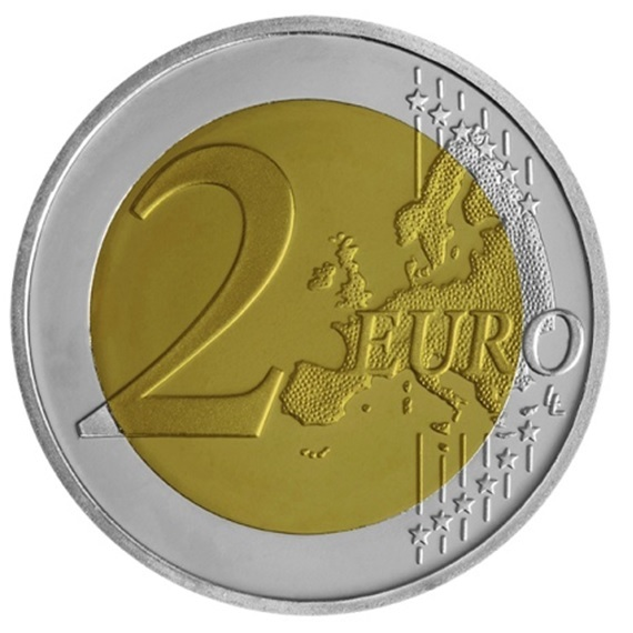 (EUR08.ComBU&BE.2020.200.BE.COM2) 2 euro Greece 2020 Proof - Union of Thrace with Greece Reverse (zoom)