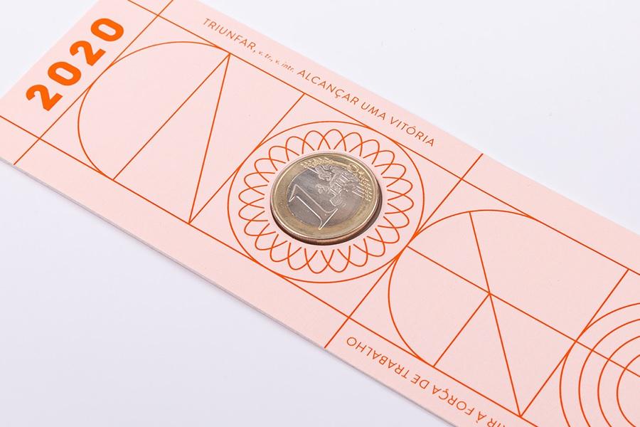 (EUR15.ComBU&BE.2020.1022061) Bookmark 1 euro Portugal 2020 FDC - Graduation (reverse) (zoom)