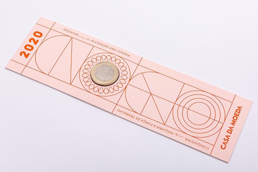 (EUR15.ComBU&BE.2020.1022061) Bookmark 1 euro Portugal 2020 FDC - Graduation (zoom)
