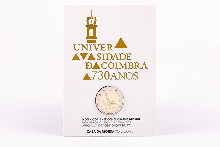 (EUR15.ComBU&BE.2020.1024125) 2 euro Portugal 2020 BU - University of Coimbra (packaging) (zoom)