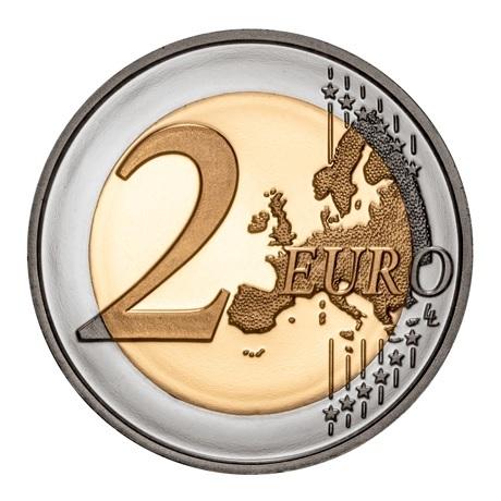 (EUR15.ComBU&BE.2020.1024126) 2 euro Portugal 2020 BE - Université de Coimbra Revers