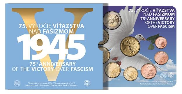 (EUR17.CofBU&FDC.2020.501464) BU coin set Slovakia 2020 (peace) (zoom)
