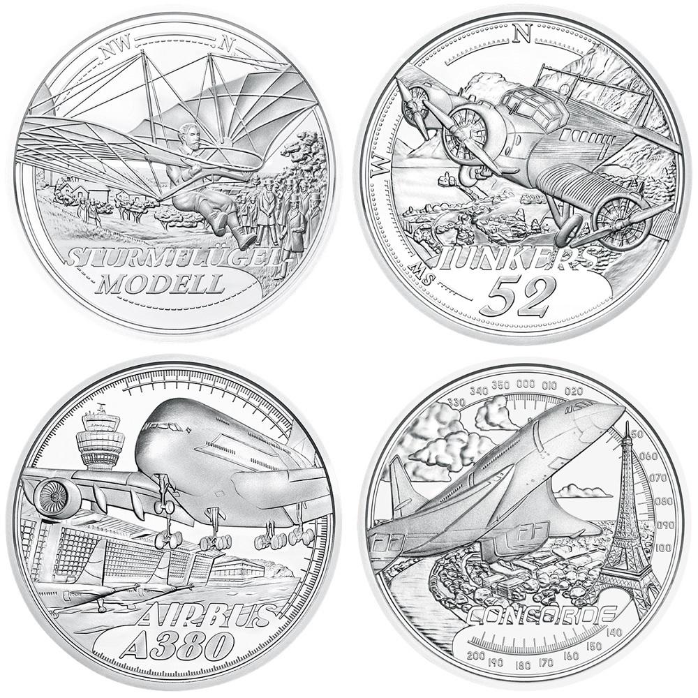 (LOT.EUR01.ComBU&BE.23608.à.24600) 20 euro Austria Proof silver - Reaching for the sky Reverses (zoom)