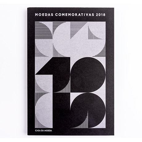 (MAT.INCM.Alb&feu.Alb.7002941) Album collector Monnaie du Portugal - Millésime 2018 Recto
