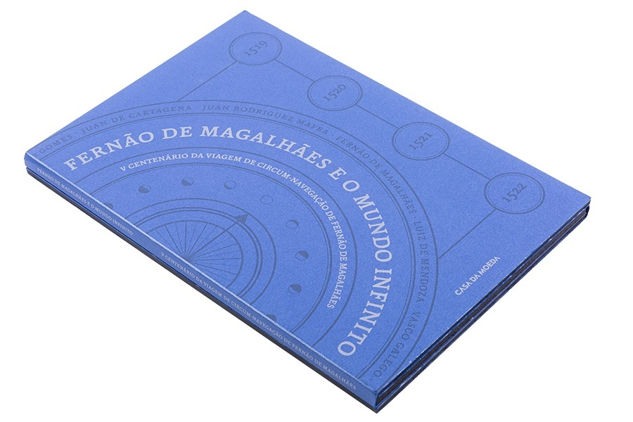(MAT.INCM.Alb&feu.Alb.7002992) Collector album Portuguese Mint - Magellan (closed) (zoom)