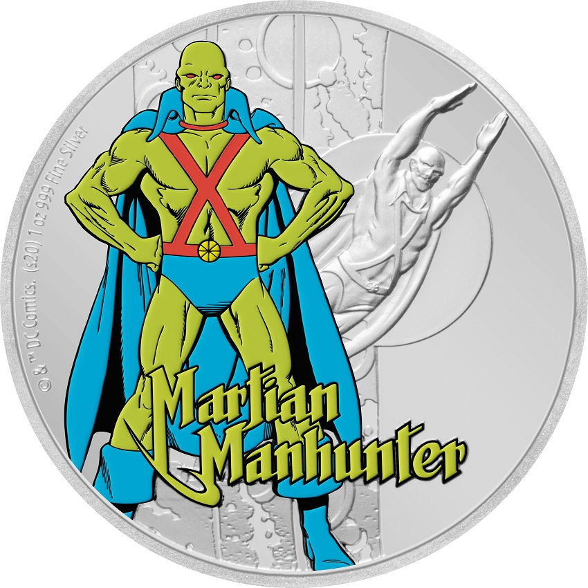 (W160.200.2020.30-00930) 2 Dollars Niue 2020 1 oz Proof silver - Martian Manhunter Reverse (zoom)