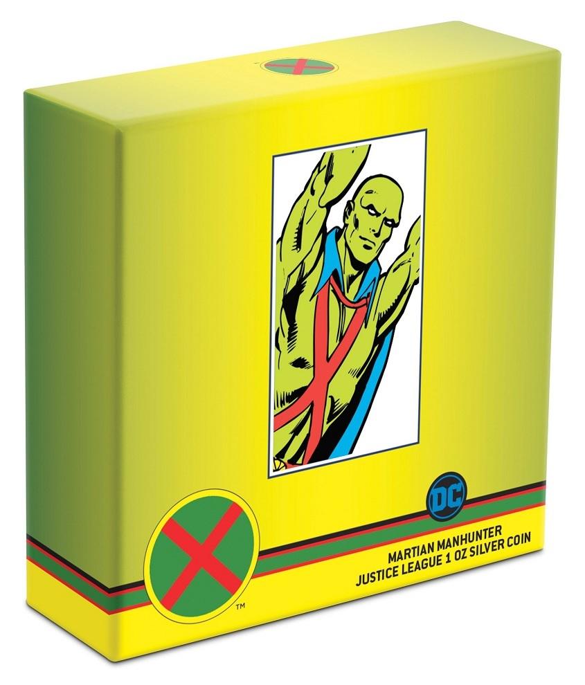 (W160.200.2020.30-00930) 2 Dollars Niue 2020 1 oz Proof silver - Martian Manhunter (box) (zoom)