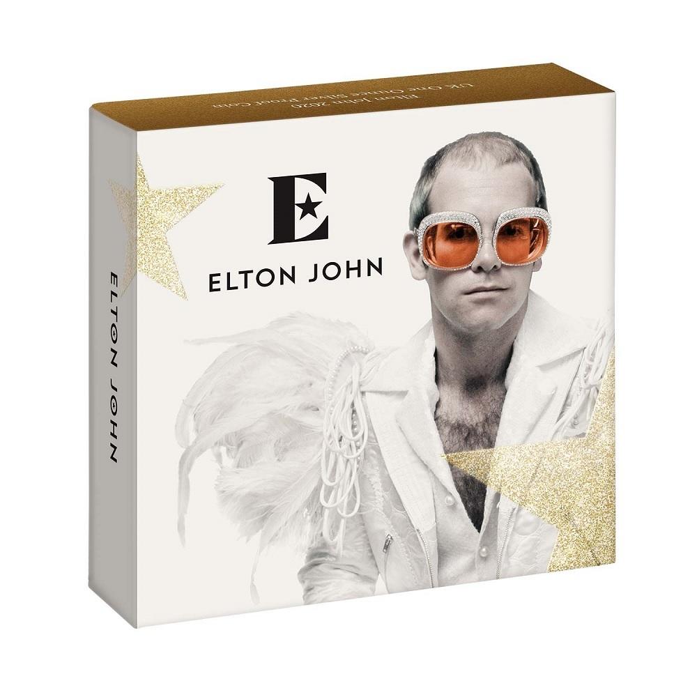 (W185.200.2020.UK20EJ1S) 2 Pounds United Kingdom 2020 1 oz Proof silver - Elton John (box) (zoom)