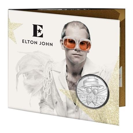 (W185.500.2020.UK20E1BU) 5 Pounds Elton John 2020 BU (entrouvert)